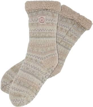 Dearfoams Fancy Fairisle Blizzard Socks