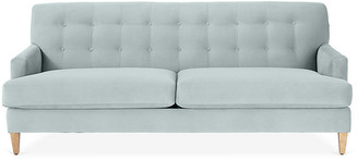 One Kings Lane Macy Sofa - Seafoam Crypton