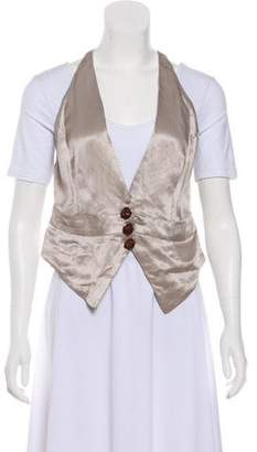 Vena Cava Casual Asymmetrical Vest