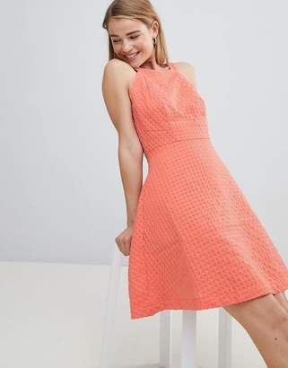 Louche Textured Skater Dress