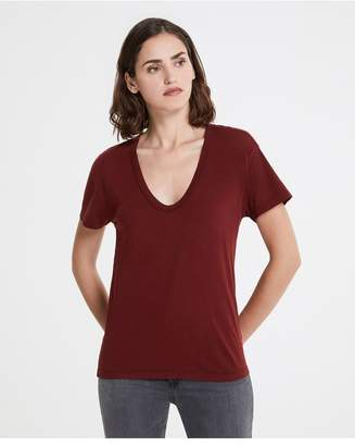 AG Jeans The Henson Tee - Tannic Red