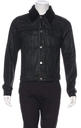 Helmut Lang Wax-Coated Trucker Jacket