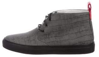 Del Toro Embossed Chukka Sneakers