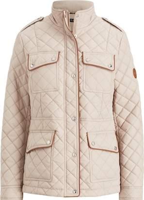 Lauren Ralph Lauren Ralph Lauren Faux-Leather-Trim Jacket