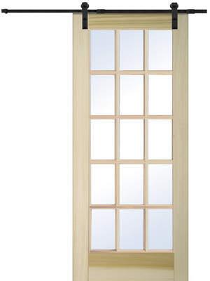 URBAN RESEARCH Verona Home Design Wood Natural Interior Barn Door