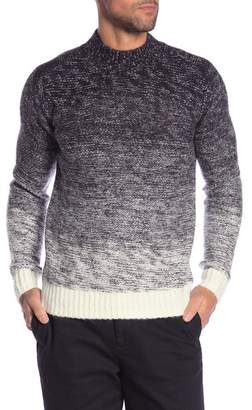 Scotch & Soda Ombre Mock Neck Sweater