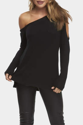 Tart Collections Harper Cold-Shoulder Sweater