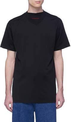 Y/Project Layered neck unisex T-shirt