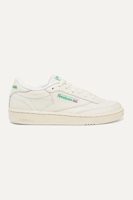 Reebok Club C 85 Vintage Leather Sneakers - Off-white