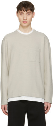 Our Legacy Beige Box Pullover $205 thestylecure.com