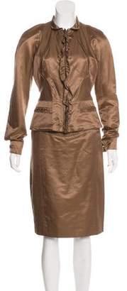 Saint Laurent Knee-Length Skirt Suit