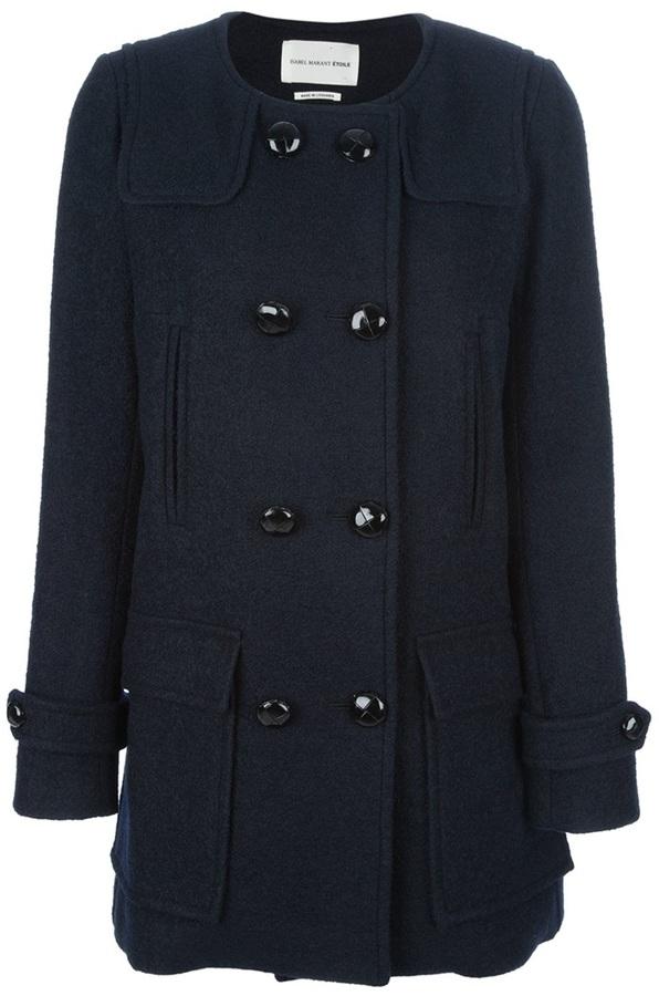 Etoile Isabel Marant buttoned coat