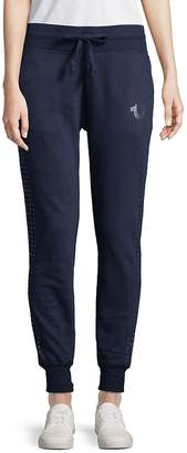 True Religion Women's Studded Jogger Pants