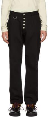 Linder Black Cropped Tube Jeans