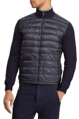 Ralph Lauren Purple Label RLX Quilted Nylon& Wool Hybrid Jacket