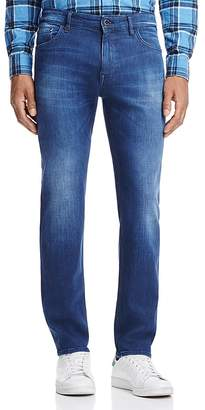 BOSS Maine Straight Fit Jeans in Medium Blue