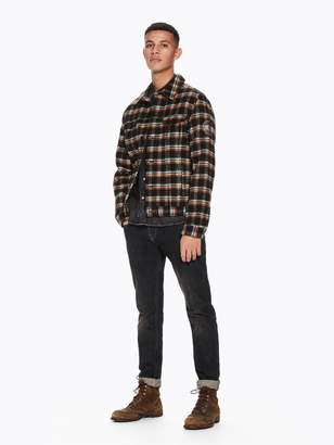 Scotch & Soda Checked Trucker Jacket