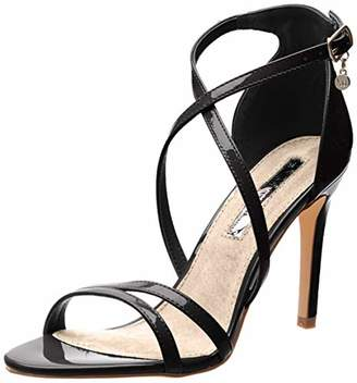 1698f15a462 ... Xti Women s 32046 Sling Back Heels Black Negro