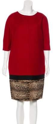 Giambattista Valli Virgin Wool Knee-Length Dress
