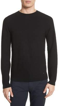 Emporio Armani Slim Fit Allover Links Sweater
