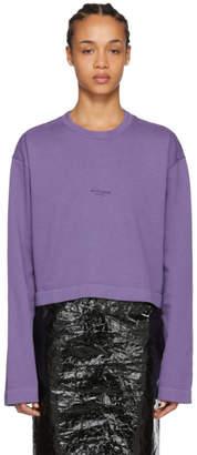 Acne Studios Purple Odice Sweater