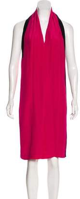 Maison Margiela Silk Halter Dress