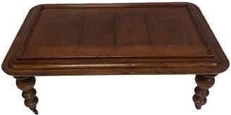 One Kings Lane Vintage Baker Inlaid Wood Coffee Table - Madcap Cottage