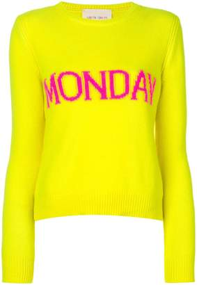 Alberta Ferretti Monday intarsia jumper