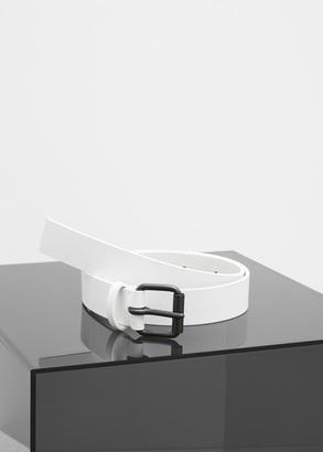 Haider Ackermann white medium belt $375 thestylecure.com