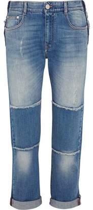 Stella McCartney Patchwork Boyfriend Jeans