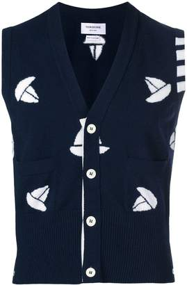 4-Bar Sailboat Vest
