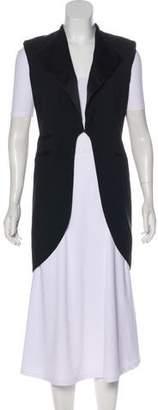 Givenchy Woven Longline Vest