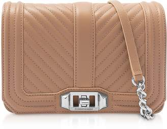 Rebecca Minkoff Desert Small Quilted Leather Love Crossbody Bag