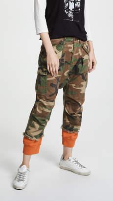 R 13 Camo Harem Cargo Pants