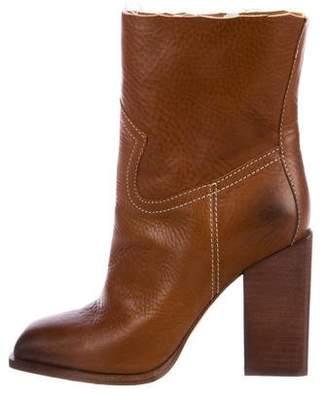 Saint Laurent Jodie Western Ankle Boots