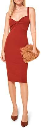 Reformation Geller Sleeveless Dress