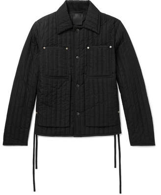 Craig Green Quilted Shell Jacket - Black