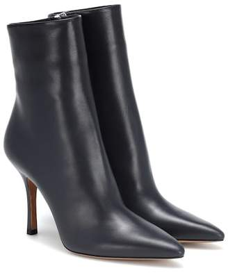 The Row (ザ ロウ) - The Row Gloria leather ankle boots