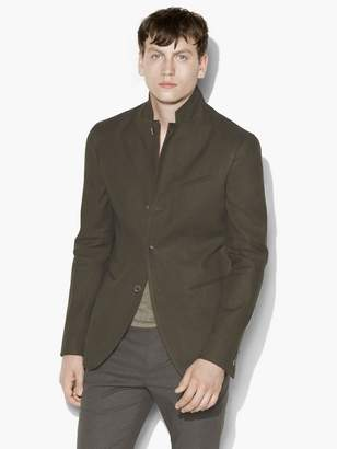 John Varvatos Garment Dyed Jacket