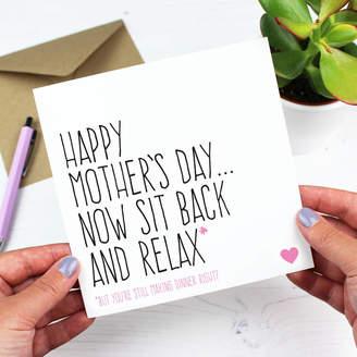 DAY Birger et Mikkelsen Purple Tree Designs 'You're Still Making Dinner Right?' Mother's Card