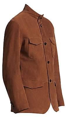 Saks Fifth Avenue Suede Field Jacket