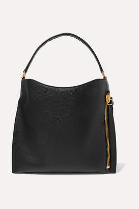 f72ef2317 Tom Ford Alix Medium Textured-leather Tote - Black