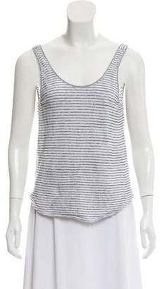 Rag & Bone Linen Blend Sleeveless T-Shirt