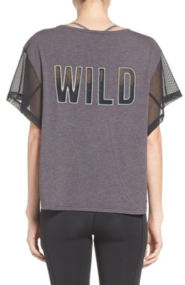 Women's Free People Fp Movement Wild Graphic Tee $68 thestylecure.com