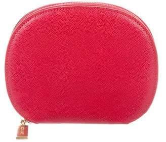 Celine Textured Leather Zip Wallet