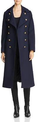 Burberry Brigadier Wool Military Coat