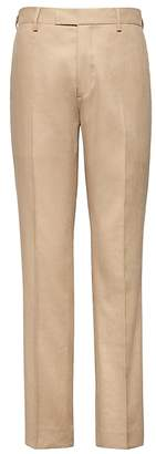 Banana Republic Heritage Tapered Khaki Linen Suit Pant