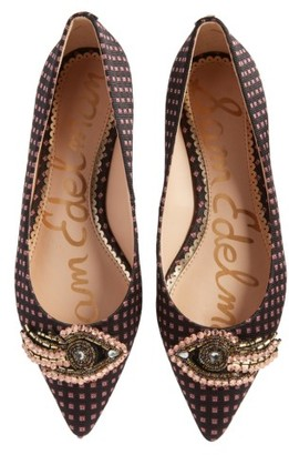 Women's Sam Edelman Rafaella Pointy Toe Ballet Flat $149.95 thestylecure.com