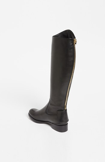 Salvatore Ferragamo 'Rodi' Boot Womens Nero Calf Size 11 B 11 B