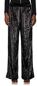 Area Women's Francis Embellished Pants - Black
